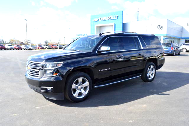 2015 CHEVY Suburban LTZ 181447A loaded 3rd row seat quad buckets NADA retail 57225 SALE 53