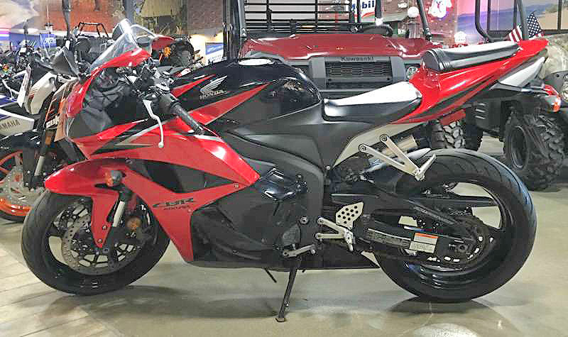 2009 HONDA CBR 600RR best middleweight supersport two-tone redblack proof of how good a sport
