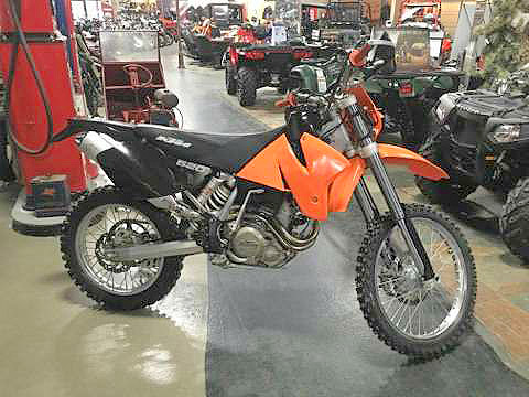 2002 KTM 520EXC awesome bike got all its books rare find ask for Cody o Ross only 2677