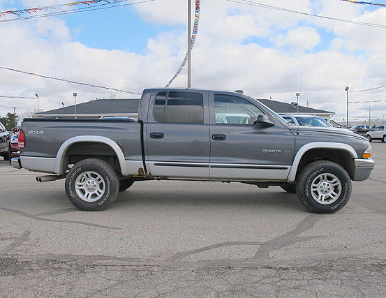 2001 DODGE Dakota SLT XG19172A 4x4 crew cab 147 down 147month or 5900 888-718-3704