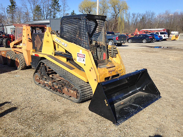 2009 ASV RC85 Track Loader 86hp Perkins diesel engine 9700 op weight 3400 op load 6400 tip load