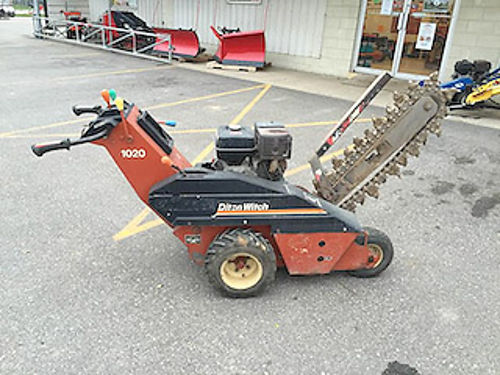 DITCH Witch wb Trencher Honda 10hp engine 24 bar 4 dirt chain 1500 866-574-9913