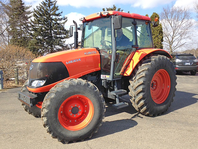 2012 KUBOTA M100XDTC Tractor 977 4Cyl Diesel Engine 4wd Bi Speed Turn Powershift 540 PTO 1000