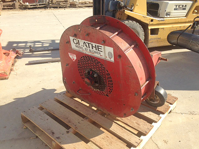 OLATHE 67 Leaf Blower Cat 1 3pt 540 PTO Model 67 only 1800 866-574-9913