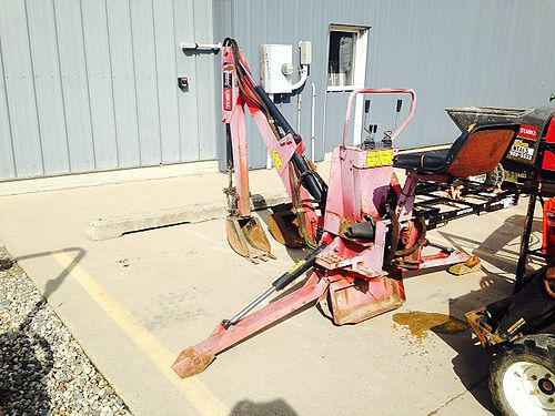 TORO Dingo Backhoe Mounts To Any Toro Dingo 82 Dig Depth 180 Degree Rotation 9  12 Buckets