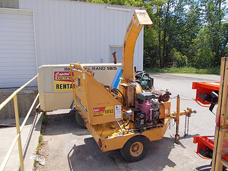 1990S Vermeer BC625 Chipper 6 Towable Chipper Kohler Engine Electric Start Hydraulic Feed Aut