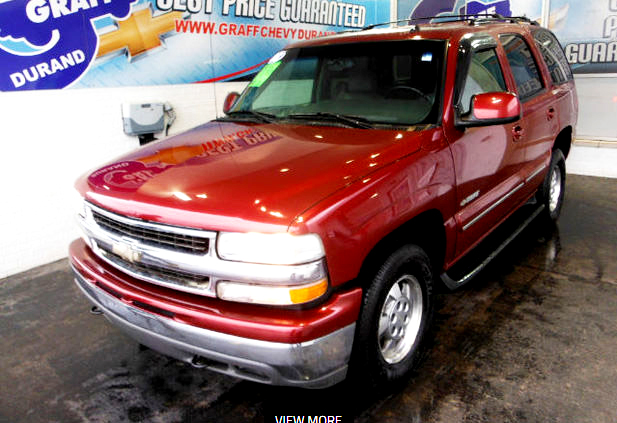 2003 CHEVY Tahoe 7-223238A 4x4 leather loaded new tires 9900
