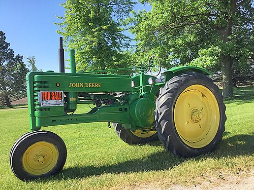 1948 JOHN Deere B new paint too much to list asking 2700 call 989-770-4093