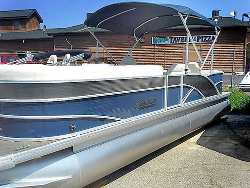 2014 SWEETWATER 24 Tri Toon 6311 new 175 HP Yamaha 36900