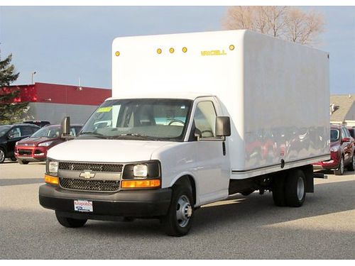 2013 CHEVY Express GU025 commerical cutaway 66379 miles 6-speed automatic V8 364month for