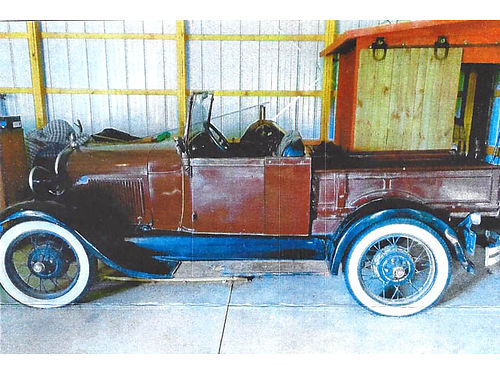 ORIGINAL 1929 Ford Model A - Roadster 15500