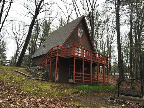 1239 SUNRISE LANE  Adorable 2BD A-frame packed with a lot of living space Must see all for only