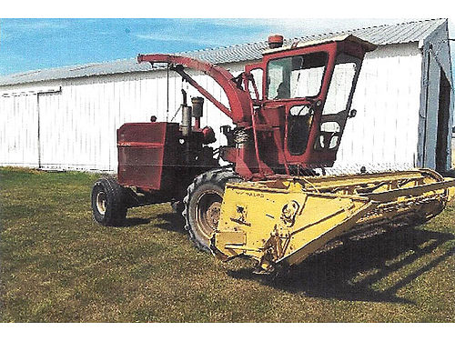 1880 NEW Holland Chopper 12 ft direct cut head cat V8 runs good rebuilt hydro stat extra part