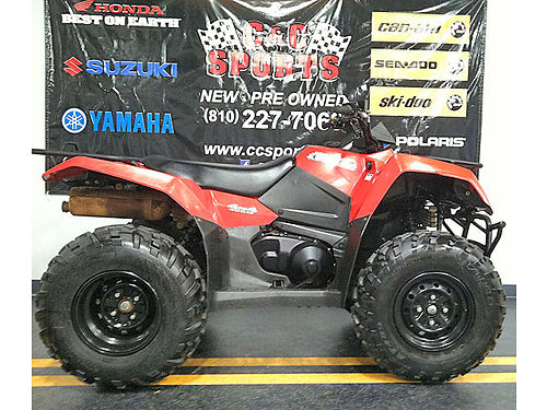 2016 SUZUKI King Quad 400 ASI 4x4 fits in a 65 foot truck bed only 281 miles only 5299For more