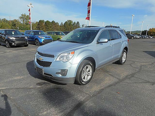 2015 CHEVY Equinox LT J101287 lots of room just 14995