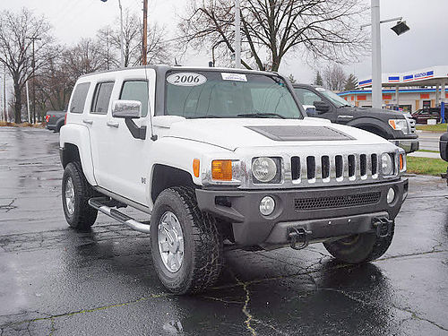 2006 HUMMER H3 luxury edition 4x4 leather moon extra clean 13488