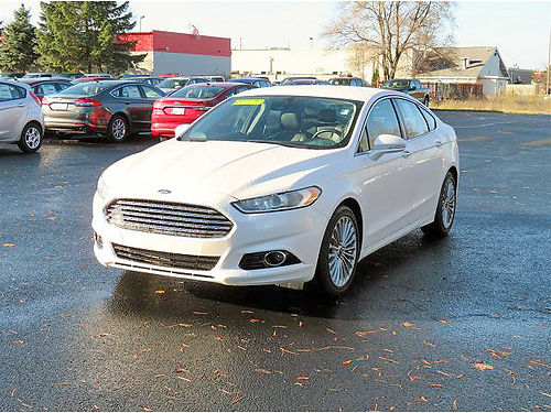 2013 FORD Fusion Titanium GU210 54k miles 2L I-4 256month for 72 months or 16150