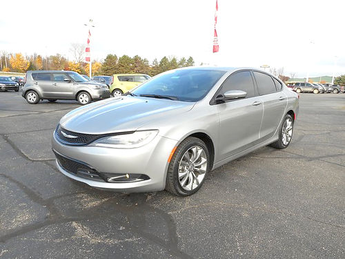 2015 CHRYSLER 200 S J101334 new look for the used price at 14995