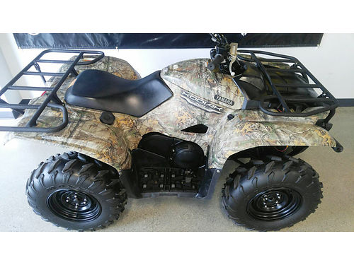 2016 YAMAHA Kodiak 700 4x4 real tree xtra camouflage fuel injected only 6599For more information