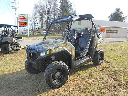 2012 POLARIS Ranger RZR 800 4x4 camo only trail-capable side x side on the market plow is availa
