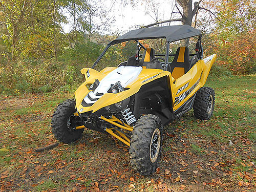 2016 YAMAHA YXZ 1000R SE new demo 20 miles yellowwhite with black sun top only 15999