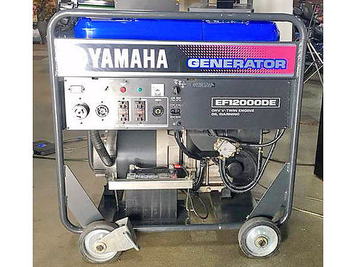 2014 YAMAHA EF1 2000DE Portable Generator like new only 43 hours over 4200 new ask for James o