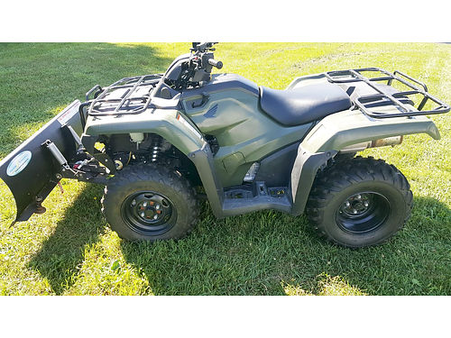 2014 HONDA FourTrax Rancher DCT EPS OR12106 4x4 lots of extras 420cc 6699