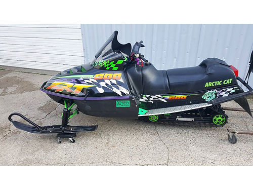 1997 ARCTIC Cat ZRT600 OR12112 5955 miles great snowmobile 2499