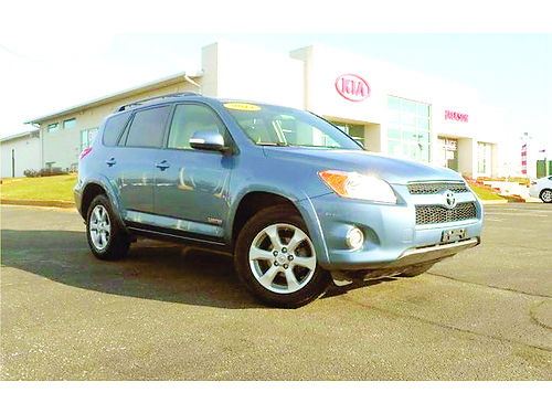 2011 TOYOTA RAV4 Limited J101384 one owner leather many options price to sell fast 18448