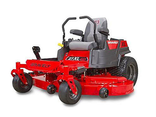 GRAVELY ZT-XL-60 915216 zero turn demo 26hp 2 cylinder Kohler adjustable high back seat with ar