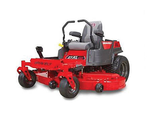 GRAVELY ZT-XL-60 915218 zero turn demo 24HP 2 cylinder Kawasaki Gas V-Twin adjustable high back