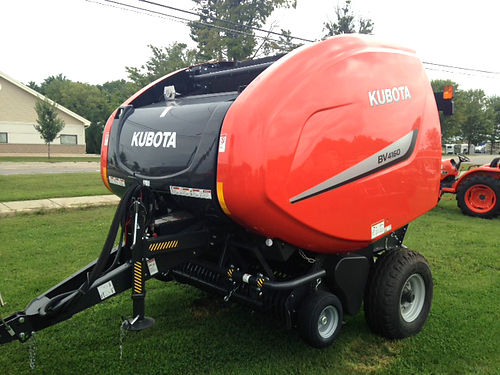 KUBOTA BV4160 like new premium round bailer 4x5 bail string tie and net wrap ask about low rate
