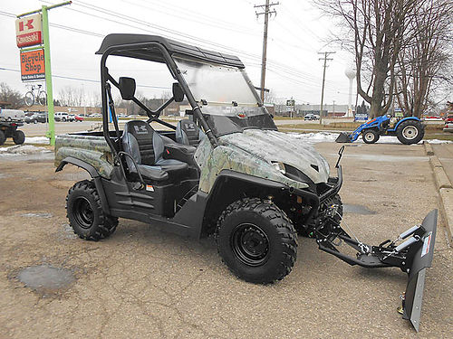 2008 KAWASAKI Teryx 750 LE 4x4 new plow and winch nice condition only 6495