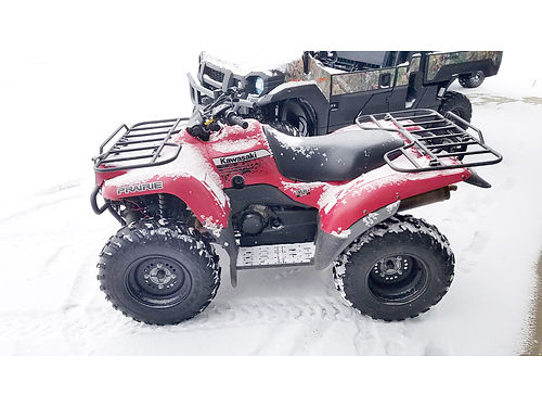 2012 KAWASAKI Prairie 360 4x4 362cc clean call today 4699