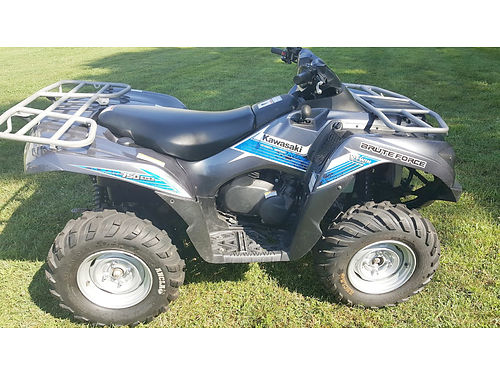 2012 KAWASAKI Brute Force 750 4x4i EPS 546 miles great condition 5999