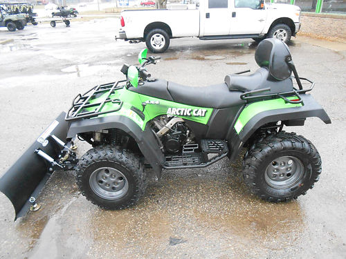 2004 ARCTIC Cat 500 4x4 automatic plow and winch only 4999