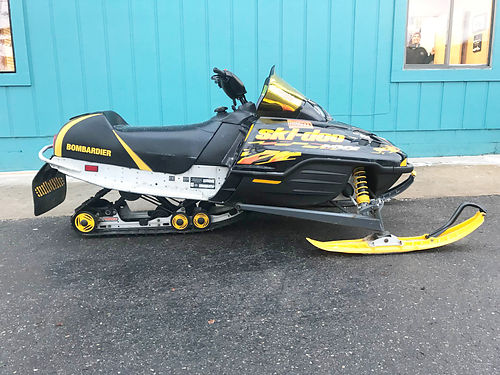 2003 SKI-DOO MX Z Trail 600 black good condition only 2499For more information contact our inter
