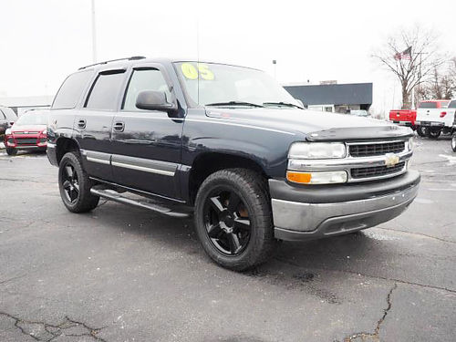 2005 CHEVY Tahoe Z-71 J11971 4x4 extremely low miles 12995