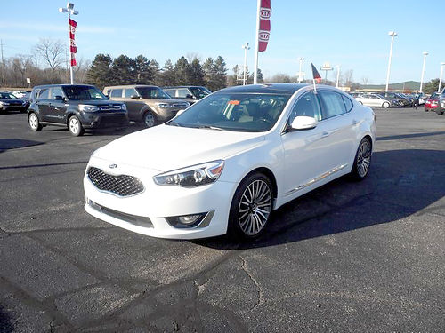 2014 KIA Cadenza Premium J101344 low miles all the options for only 19599