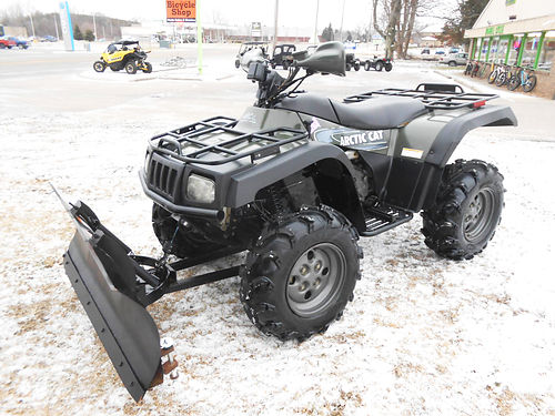 2003 ARCTIC Cat 400 4x4 low miles lots of power new tires plow only 3899
