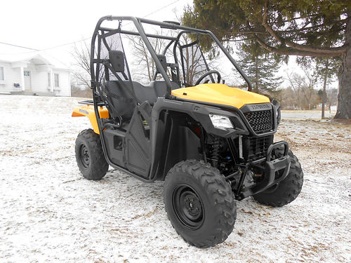 2015 HONDA Pioneer 500 4x4 comfortable compact easy to handle only 7199