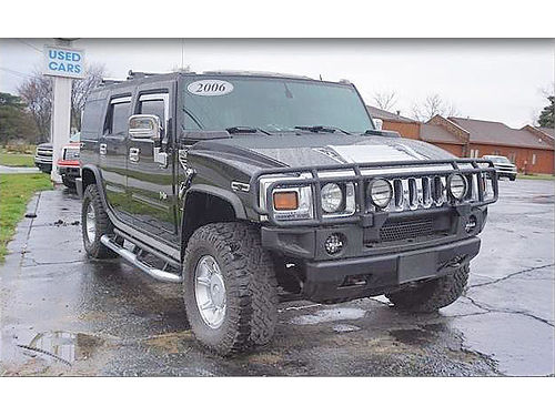 2006 HUMMER H2 106848 extremely low miles absolutely loaded 27988