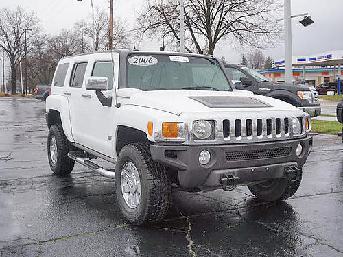 2006 HUMMER H3 329382 low miles 4x4 loaded 13288