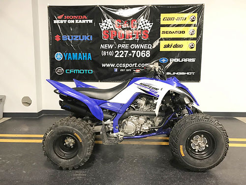 2016 YAMAHA Raptor 700 only 75 miles a performance-first big bore sport ATV only 6799For more i