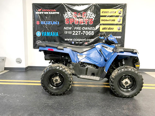 2015 POLARIS Sportsman ETX AWD 400cc only 307 miles only 4699For more information contact our
