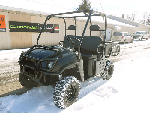 2008 POLARIS Ranger XP Limited Edition 4x4 only 742 hours black only 6999