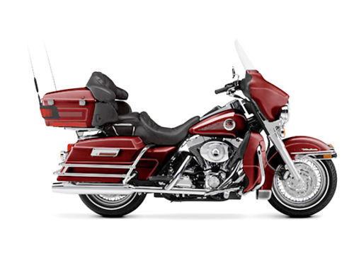 2002 HARLEY-DAVIDSON Ultra Classic Electra Glide FLHTCUI luxury rich red 1450 cc ask for Ross or