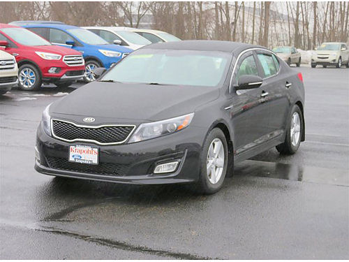2014 KIA Optima LX GU235A auto 1 owner local trade 179month for 72 months or 11380