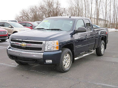 2008 CHEVY Silverado Z-71 HT146B 4x4 extended cab 53L automatic bedliner trailer tow 324m