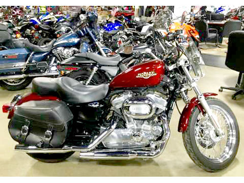 2008 HARLEY-DAVIDSON Sportster 883 Low this low flying Eagle comes with an ample helping of chrome